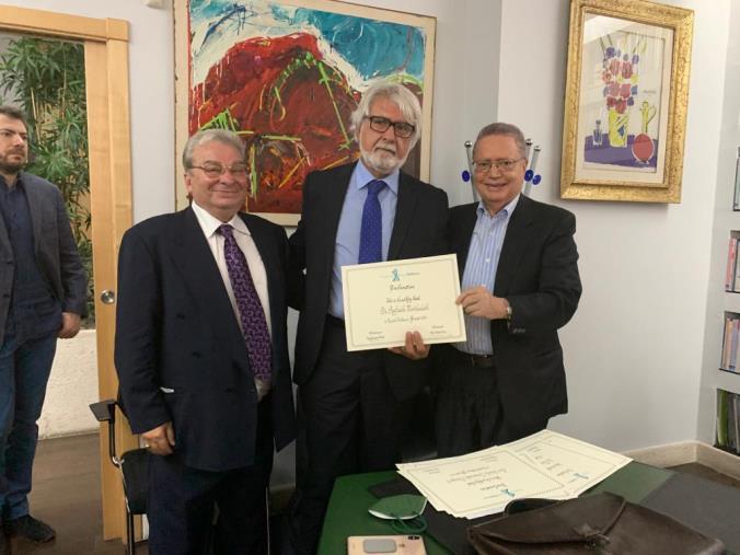images 'Renato Dulbecco Institute', Mostaccioli chiamato dai professori Crea e Nisticò a fare da raccordo con le imprese del territorio