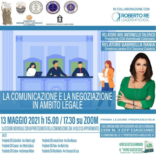 """images """"La comunicazione e la negoziazione in ambito legale"""": domani l'incontro organizzato dall'ordine degli avvocati"""