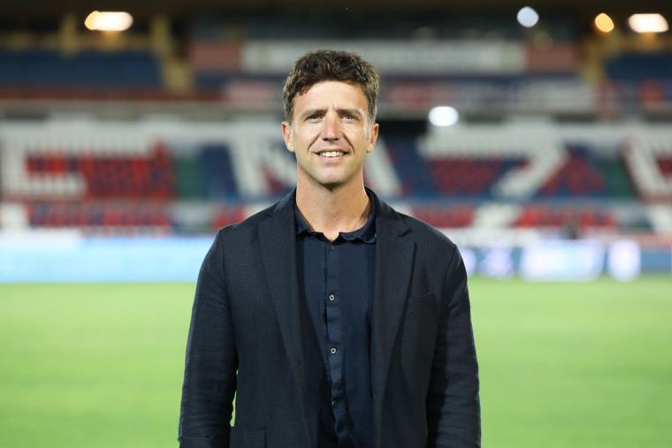 images Calcio. Emanuele De Lieto Vollaro è il responsabile organizzativo del Cosenza