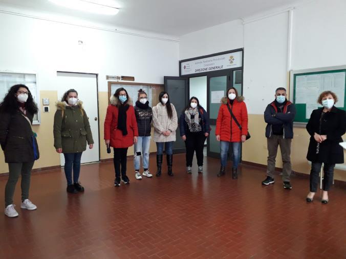 """images Focolaio carcere di Catanzaro, la CGIL Area Vasta con una delegazione di infermieri e Oss dalla commissaria dell'Asp: """"Preoccupati. Servono rinforzi"""""""