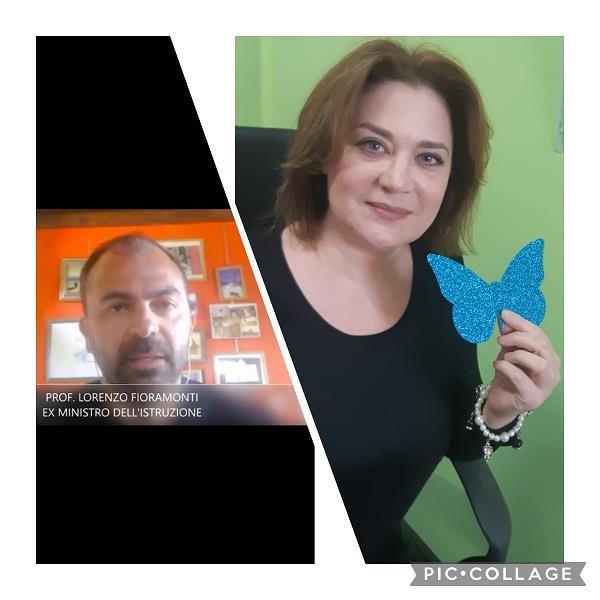 images Giornata dell'autismo. I complimenti dell'ex ministro Fioramonti all'IC 'Mater Domini' per il progetto sull'inclusione