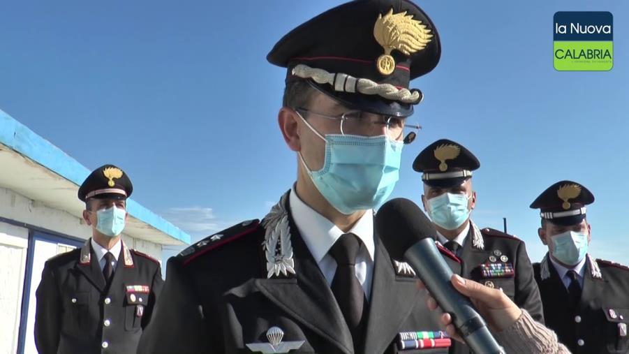 images Catanzaro. Il colonnello Carubia trasferito a Cuneo: lascia Catanzaro dopo 3 anni