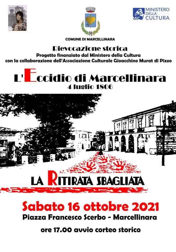 """images """"L'eccidio di Marcellinara 4 luglio 1806-la ritirata sbagliata"""" rivive sabato in piazza Scerbo"""