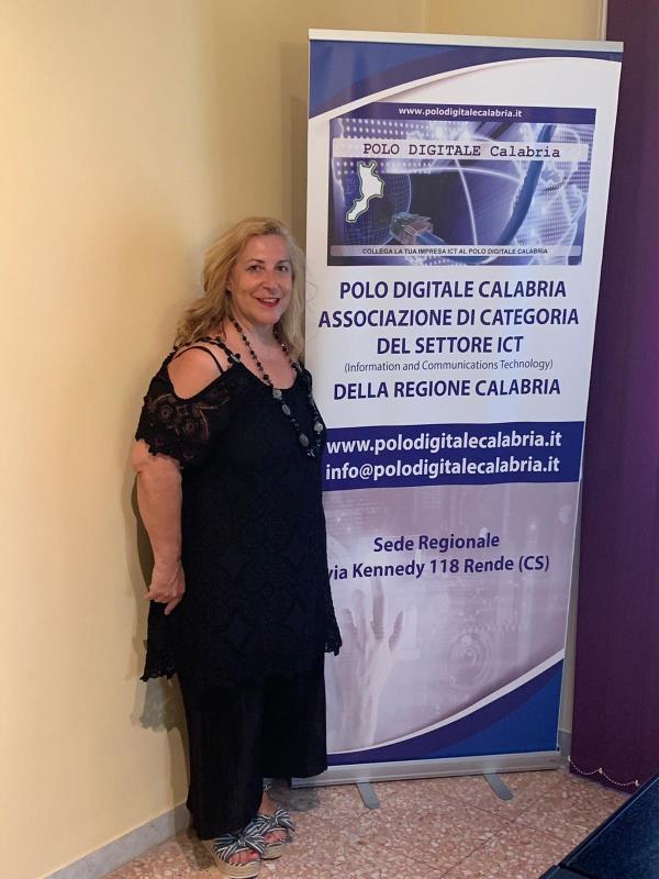 images Emilia Mezzatesta è la prima coordinatrice regionale donna del Polo digitale Calabria (VIDEO)