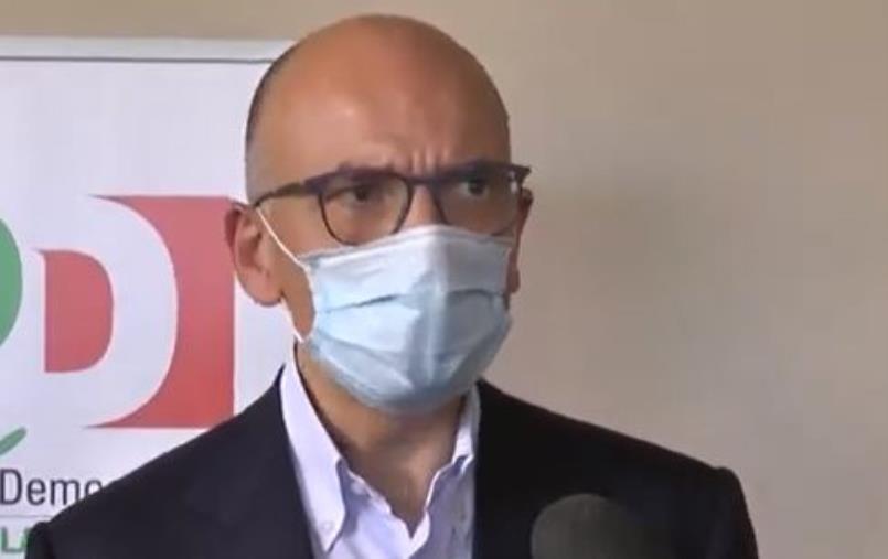 """Video: Regionali. Letta su Amalia Bruni: """"Chi non sostiene Amalia Bruni sceglie continuità con Spirlì"""""""