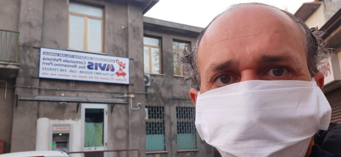 """images Coronavirus. Un docente catanzarese: """"Pronto a donare il plasma iperimmune. Su di me Astrazeneca ha funzionato benissimo"""""""