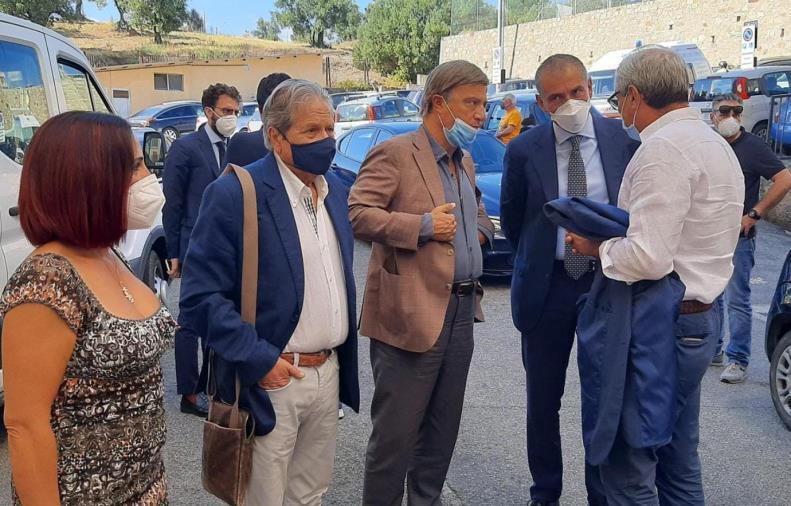 images Sanità, il sottosegretario  alla Salute ha visitato l'ospedale di Soverato con il presidente dell'Ordine dei Farmacisti di Catanzaro
