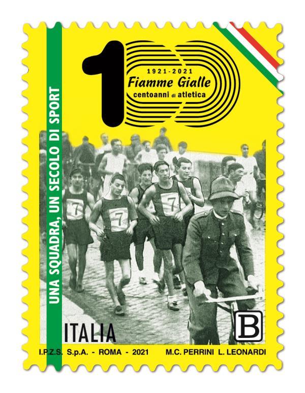 images Poste italiane dedica un francobollo al Settore atletica leggera delle Fiamme Gialle