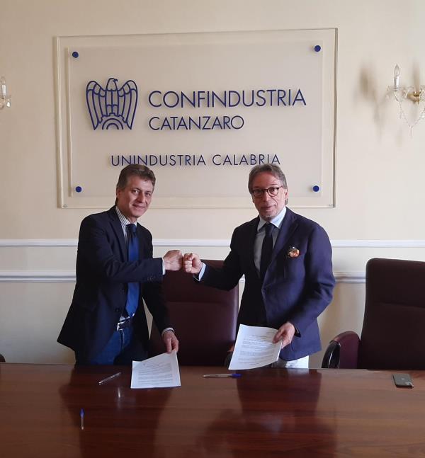 images Cresce la collaborazione tra la Bcc di Montepaone e Unindustria Calabria. Obiettivo: facilitare l'acceso al credito