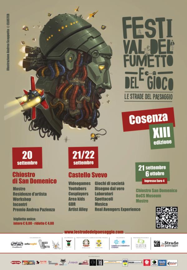 images Dal 20 settembre parte il Festival del fumetto a Cosenza
