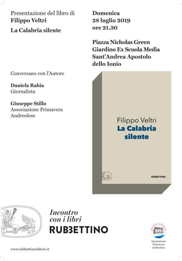 """images Filippo Veltri presenta """"La Calabria Silente"""""""