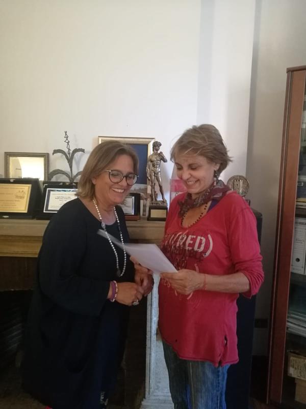 "images ""Sorelle per scelta"", Cariati diventa set della commedia Tv di Manuela Metri"