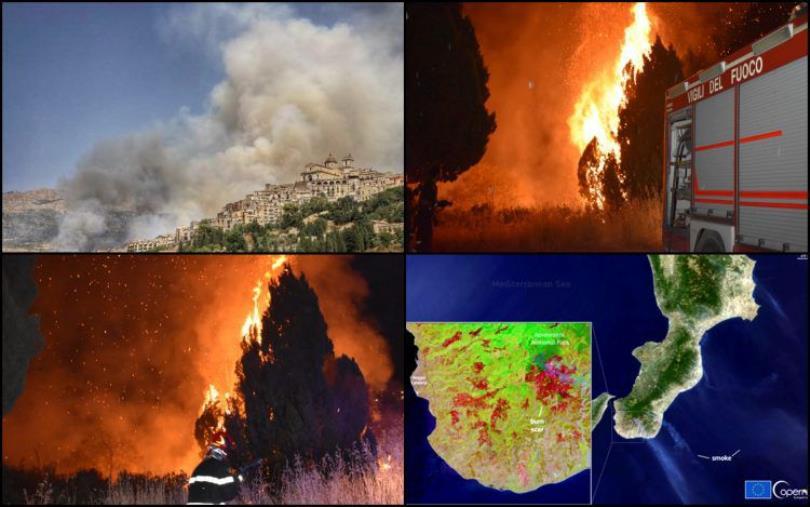 """images Calabria in fiamme, Saccomanno (Lega): """"E' il momento del cordoglio, della responsabilità e della determinazione"""""""