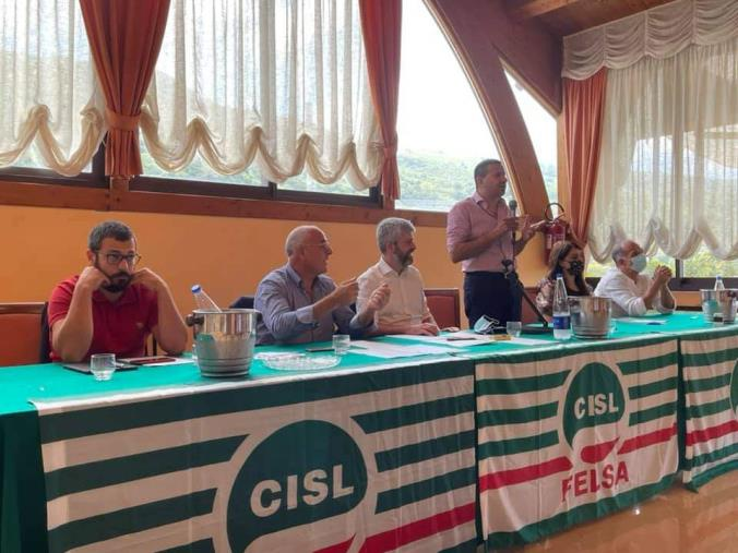 images Lamezia Terme. FeLSA CISL Calabria: Gianni Tripoli è il nuovo Segretario