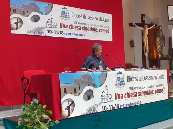 """images La """"Chiesa sinodale"""" al centro dell'assemblea diocesana di Cassano allo Jonio"""