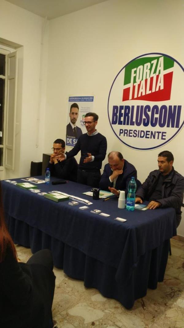"""images """"La Calabria in Europa"""", a Lamezia Terme Forza Italia """"difende"""" il territorio"""