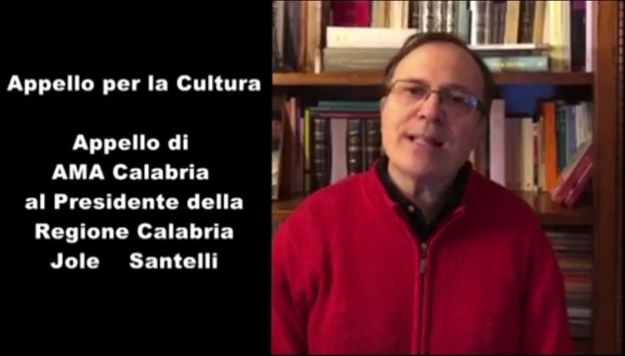 images Coronavirus. Il maestro Pollice si unisce agli Enti culturali calabresi nell'appello al Presidente Santelli (VIDEO)