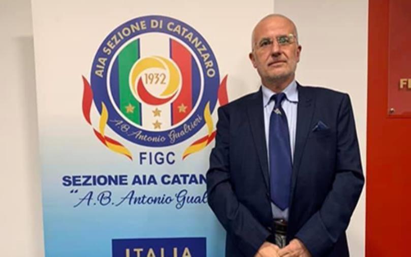 images Franco Falvo nominato responsabile della commissione tecnica nazionale Aia-Figc per la Can 5, gli auguri di Antonio Angotti