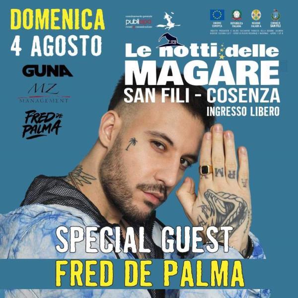 images Il rapper Fred De Palma incontra le Magare di San Fili