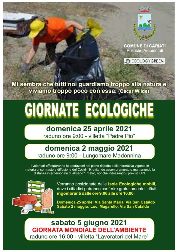 images Cariati celebra le 'Giornate ecologiche': si inizia domenica