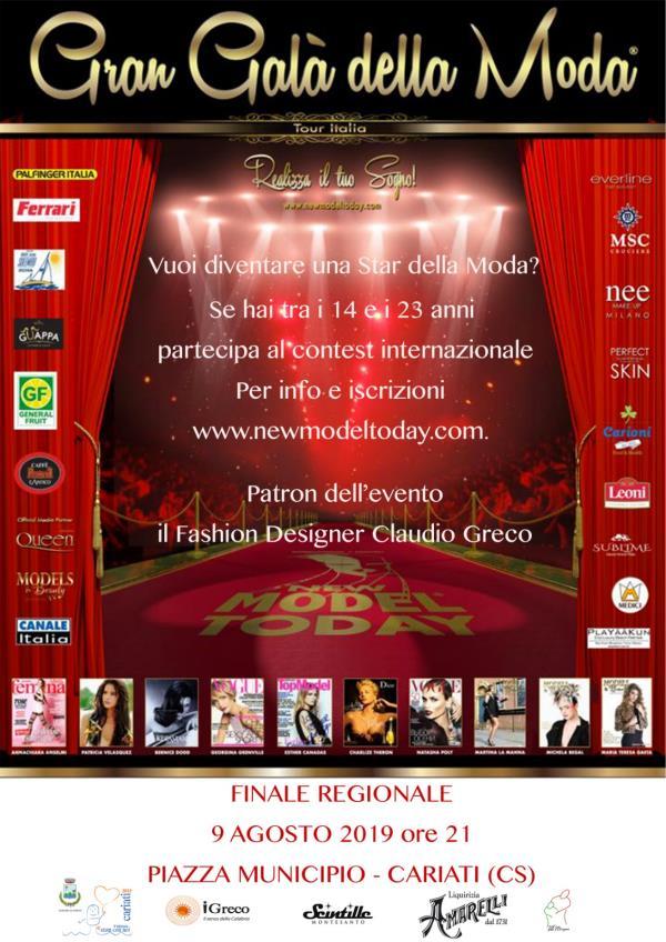 images A Cariati un evento internazionale per un gran gala di moda