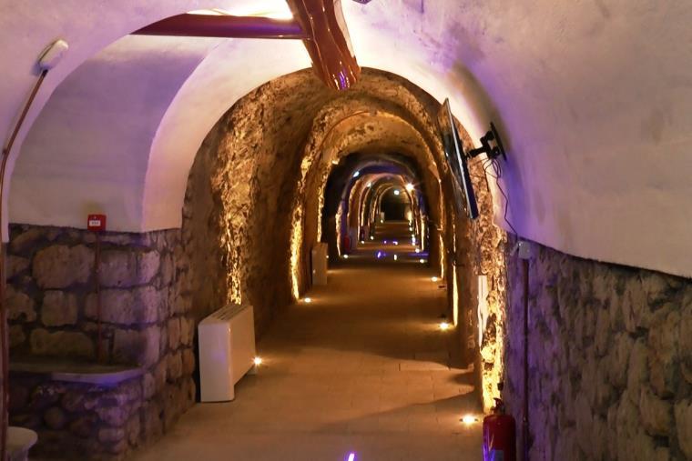 images Catanzaro. Mirabilia chiede ad Abramo e Cardamone la disponibilità dei sotterranei del San Giovanni per l'allestimento di eventi