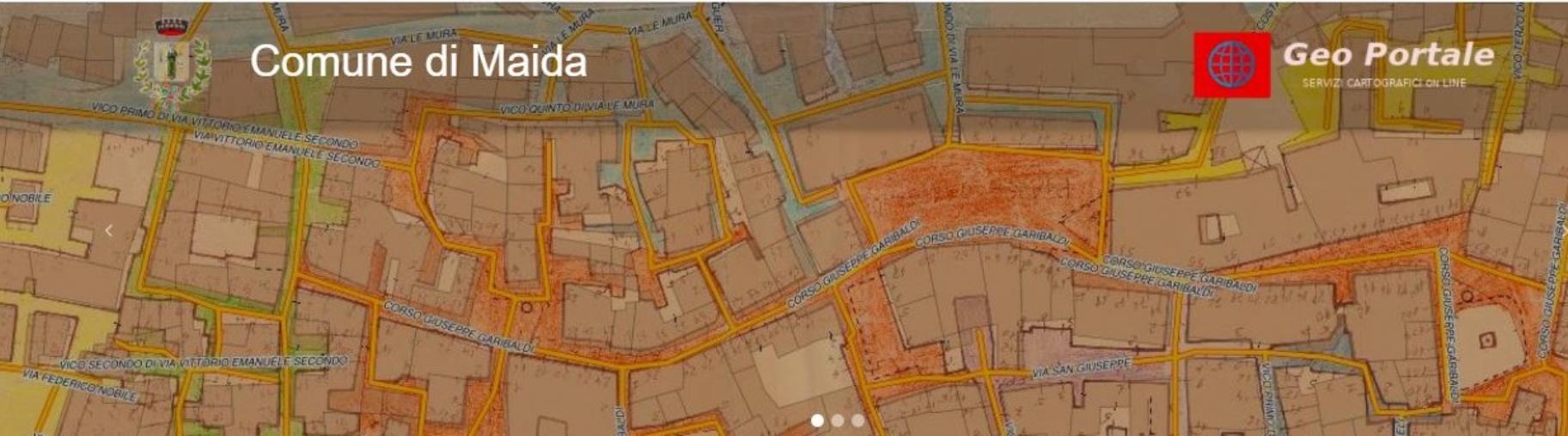 images Maida: attivato il nuovo GeoPortale cartografico del Comune per la consultazione libera di dati territoriali