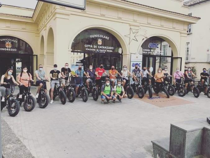 images Bike tour. Successo per la visita guidata in bicicletta per le vie di Catanzaro, si replica il 3 luglio