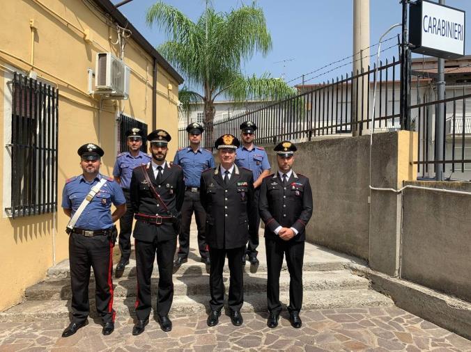 images Reggio Calabria. Il Generale Cavallo, Comandante Interregionale Culqualber, in visita al territorio