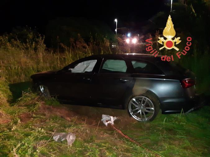 images San Vito sullo Ionio. Finisce con l'auto in una scarpata: ferito un 44enne