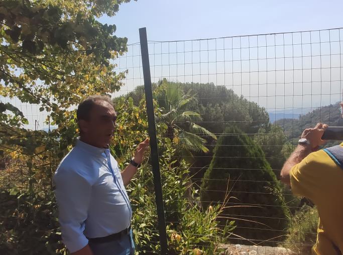 """images Pineta di Siano. Prima stima dei danni, Abramo: """"Colpiti 10 ettari su 280, integro il cuore verde"""""""