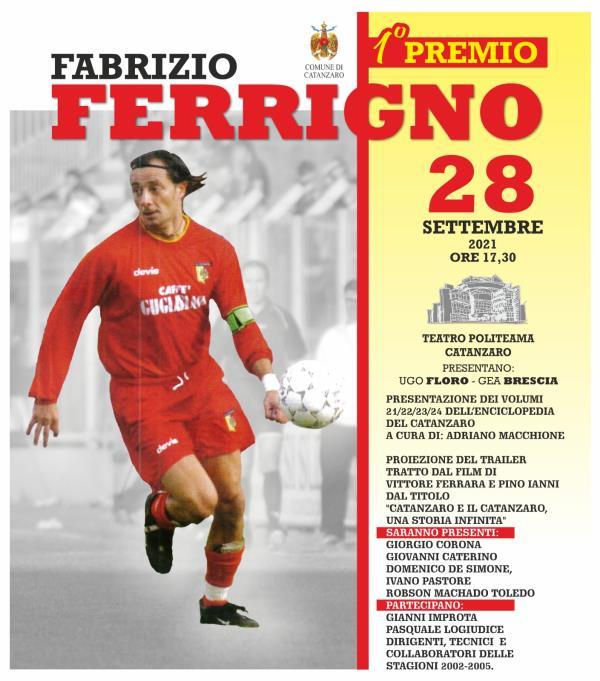"""Catanzaro. Martedì 28 al Politeama il """"Primo Premio Fabrizio Ferrigno"""""""