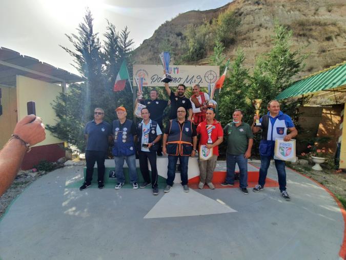 """images Tiro a bersaglio, conclusa la gara """"Champions Fidasc Calabria Open Sud""""a Spezzano Albanese"""