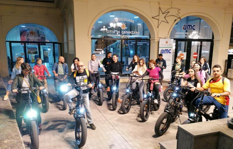 """images """"Bike tour"""": in tanti per la pedalata tra storia, tradizione e cultura per le vie di Catanzaro"""