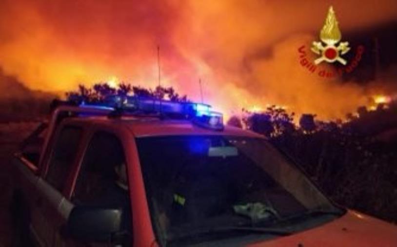 images Incendi. Lunedì Salvini sarà accanto alle vittime dei roghi in Aspromonte