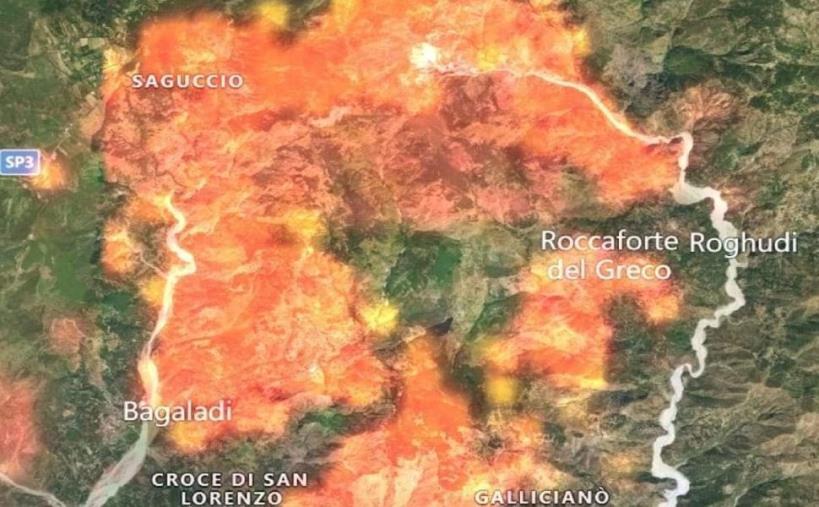 """images Incendio Aspromonte, Saccomanno (Lega) presenta una denuncia in Procura: """"Catastrofe che non può restare impunita"""""""