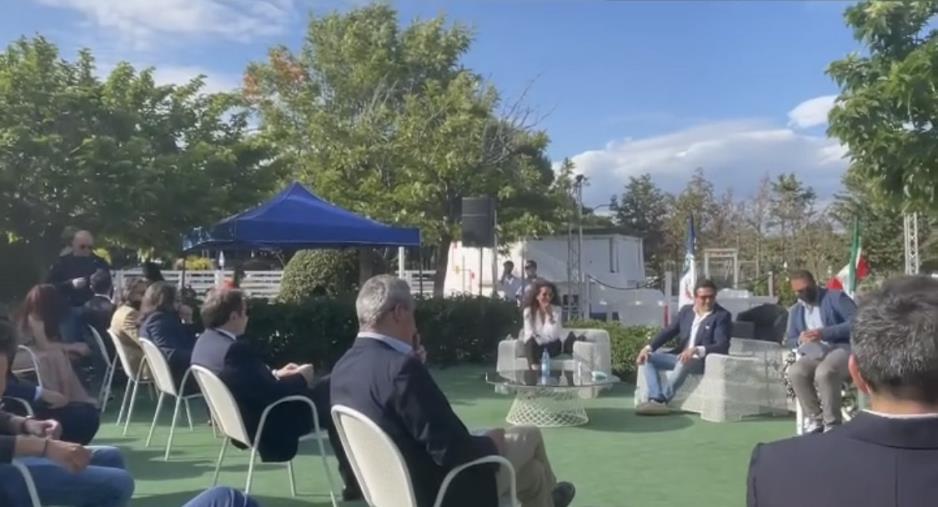 """images Regionali. Fratelli d'Italia discute di Recovery e Wanda Ferro non esclude una sua candidatura: """"Lo farei con grande piacere"""""""