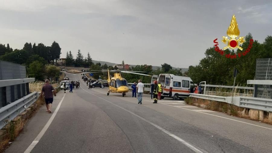 images E' morto il bambino di 11 anni rimasto coinvolto in un incidente a Chiaravalle: donati gli organi