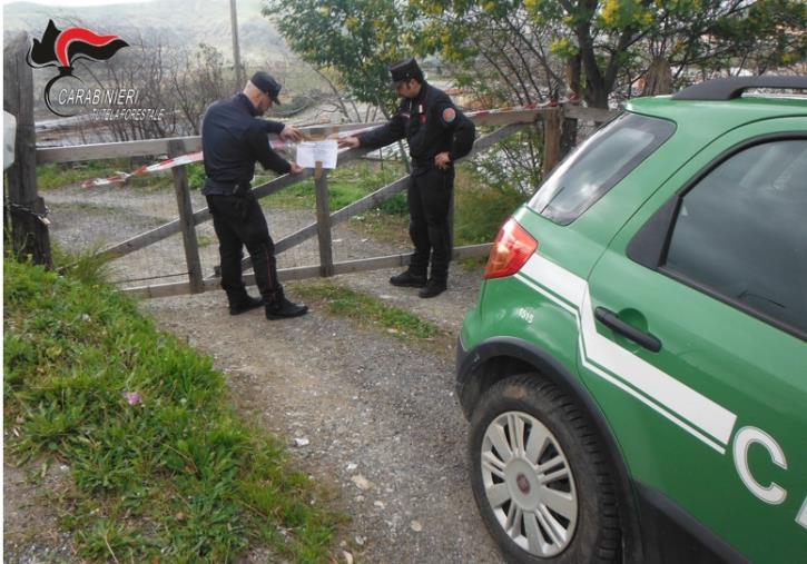 images Sequestrato a Isola Capo Rizzuto un box auto in costruzione in un'area di interesse archeologico
