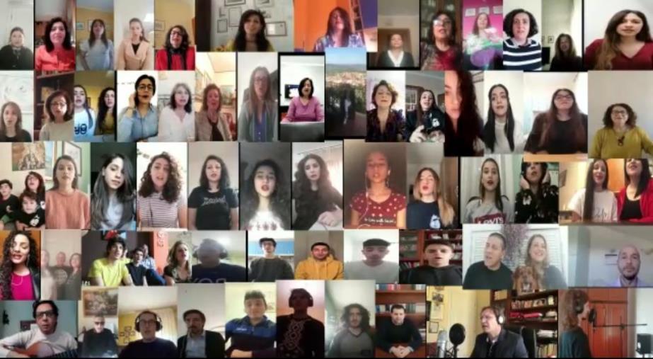 """images Giornata mondiale della voce. Il messaggio degli studenti del Liceo G.V. di Gravina di Crotone: """"Il canto esprime le diverse passioni dell'animo"""""""