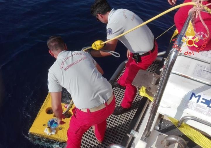images Trovato il corpo del sub scomparso a Isola delle Femmine, a Palermo anche i sommozzatori di Reggio Calabria