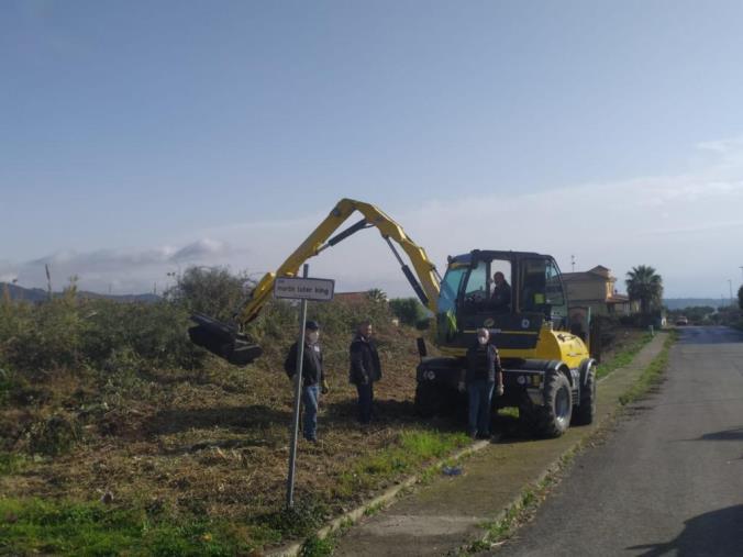 Viabilità rurale. Il Consorzio Bonifica di Catanzaro esegue interventi di manutenzione a Soveria Simeri