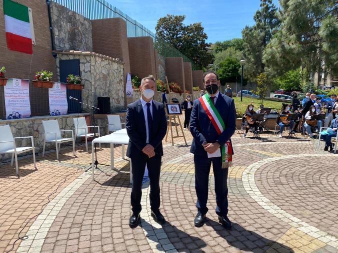 images Maida. Giornata della legalità: intitolata la Villa comunale ai giudici Falcone e Borsellino