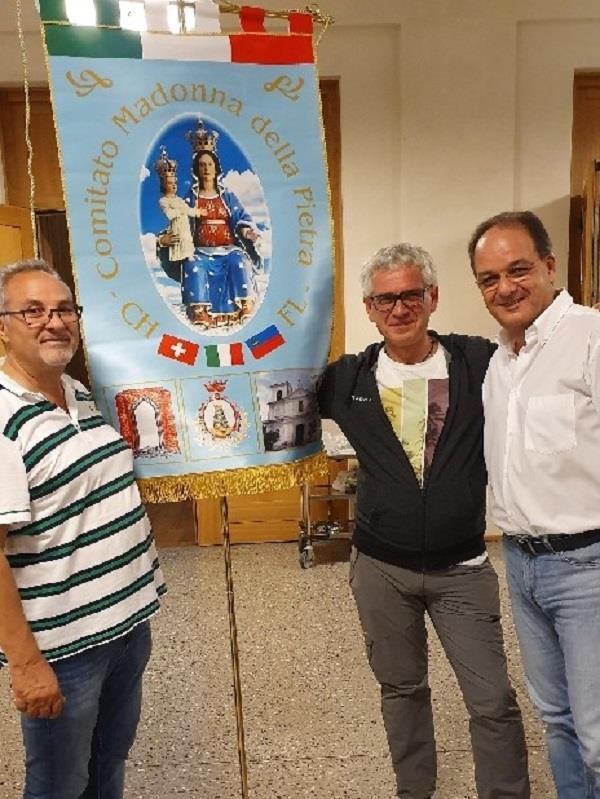 images Chiaravalle Centrale, sindaco e parroco in terra elvetica