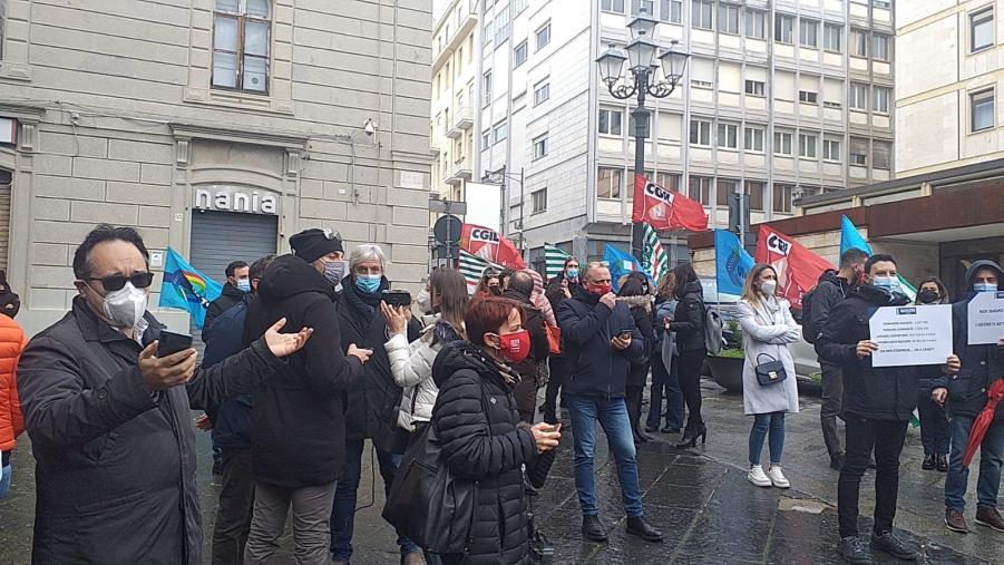 """images Navigator in piazza anche a Catanzaro. Cgil, Cisl e Uil: """"Professionalità da tutelare"""""""