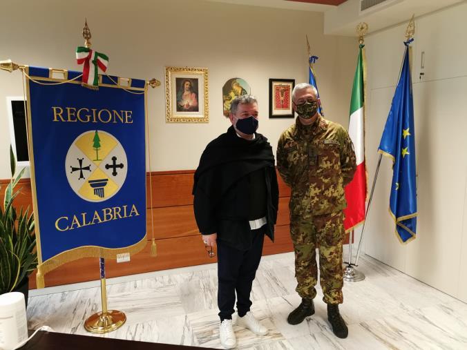 images Esercito. Il Comandante delle Forze operative Sud ha visitato il CME Calabria e incontrato i vertici delle Istituzioni locali (FOTO)