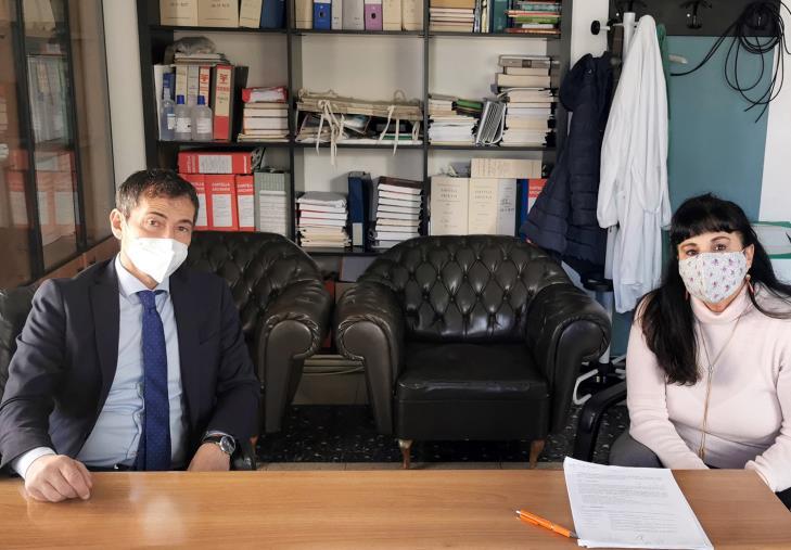 """images Annunziata di Cosenza. Sapia (M5S) incontra Mastrobuono: """"L'ospedale può diventare riferimento per i trapianti e la ricerca"""""""