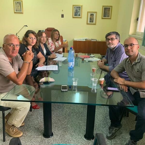 images Sanità nel Catanzarese, D'Ippolito e Nesci a colloquio con i vertici dell'Asp