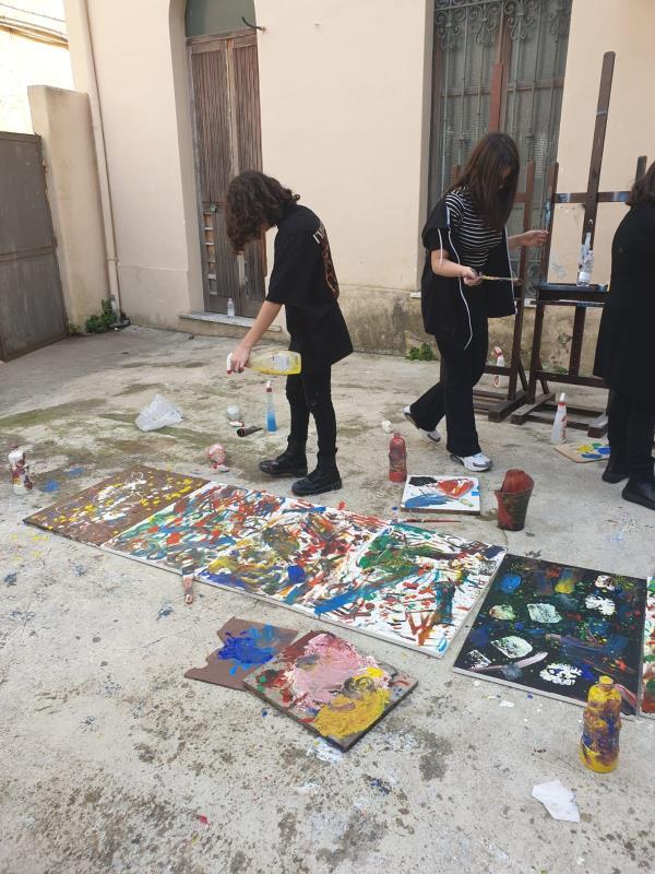 """images Al Liceo Artistico dell'I.I.S. """"De Nobili"""" una giornata creativa tutta dedicata ai disabili per dire no alle barriere"""
