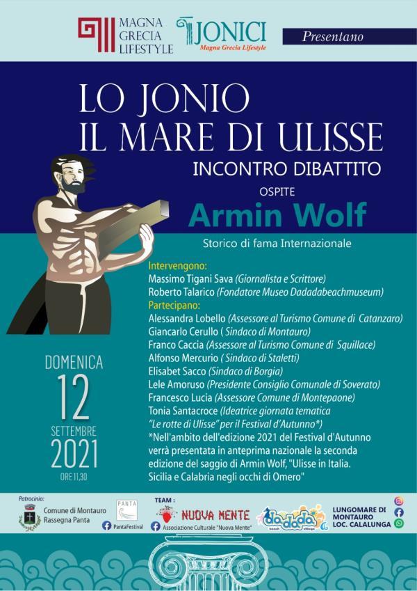 """images """"Lo Jonio, il mare di Ulisse - una sfida al mondo globale"""", domenica incontro a Montauro"""